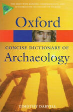 Oxford Dictionary Archaeology Roman Emperors Egypt Dynasties British Bronze Age