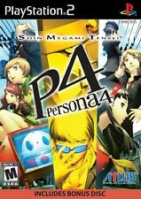 Shin Megami Tensei: Persona 4 PlayStation 2 PS2 Includes Bonus Soundtrack NEW