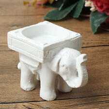 Resin Elephant Candle Tea Light Holder Bridal Wedding Party Home Decor Gift