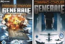 COMMAND AND CONQUER GENERÄLE DELUXE inkl. Die Stunde NULL Sehr guter Zustand