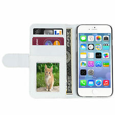For iPhone 6/6 Plus, iPhone 7/7 Plus Screen Protector/Flip Card Slot Wallet Case