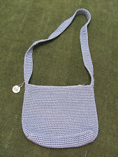 NWOT* THE SAK Hand-Knit PERIWINKLE BLUE BAG Purse  $8.99 BUY-NOW!