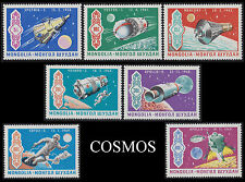 MONGOLIE N°504/510** Cosmos, Espace 1969 MONGOLIA Space Sc#554-560 MNH