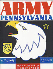 1945 Army Pennsylvania football program National Champs Davis Blanchard Heisman