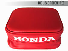 HONDA XR200R 1984-1987 XR250R 1984-1985 RED TOOL BAG POUCH (mi)
