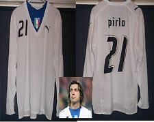 ITALY 2006 Pro football shirt soccer jersey  ANDREA PIRLO Juventus NYC MLS Used