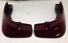 1999-2005 Mazda Miata OEM Rear Mud Flaps, Garnet Red