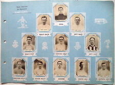 DERBY COUNTY – EARLY 1920's SET OF x11 PINNACE CARDS
