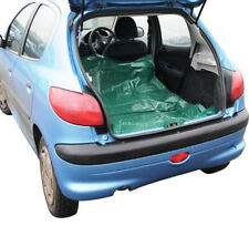 GREEN WATERPROOF CAR BOOT LINER 4 EYELETS TRUNK COVER MAT DOGS 4X4 183X122CM S54