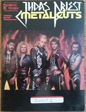 JUDAS PRIEST METAL CUTS GUITAR TAB TABLATURE SONGBOOK