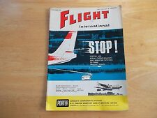 FLIGHT INTERNATIONAL MAG 1/10/64 PORTER LAUNCHING SYSTEMS   AVIATION AIRCRAFT