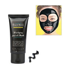 DEEP CLEANSING BLACKHEAD REMOVER NOSE FACE MUD MASK ACNE TREATMENT PORE 50ML AS