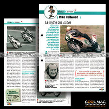 #jbt16.004 ★ MIKE HAILWOOD Pilote CHAMPION VITESSE ★ Fiche Moto Motorcycle Card