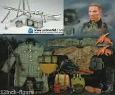 DID German Wehrmacht Heer Albert Halder Metal MG34 Gunner w Ammo Dragon 3R