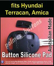 to suit Hyundai Terracan, Amica remote key fob - Silicone Key Button Pad (1set)