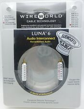 WireWorld Luna 6 Subwoofer Cable 6 meter LSM-6.0M Wire World