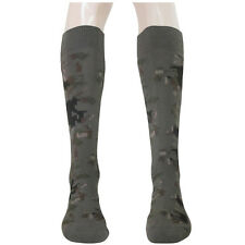 2 Pairs Mens Over The Calf Camping Trekking Hiking Military Boot Socks Clearance