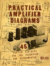 Practical Amplifier Diagrams by Jack Robin and Chester E. Lipman (1947) - CD
