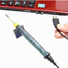 New Portable USB 5V 8W Professional Electric Soldering Iron with packet ZD-20U