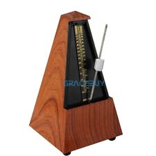 Antique Vintage Style Metronome Wood Color Music Timer For seth thomas New