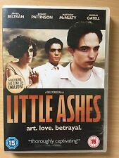 Robert Pattinson LITTLE ASHES ~ 2008 Gay Interest / Salvador Dali Drama | UK DVD