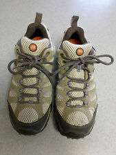 """Merrell """"Dusty Olive"""" mesh and suede hiking shoes. Women's 10 (eur 41)"""
