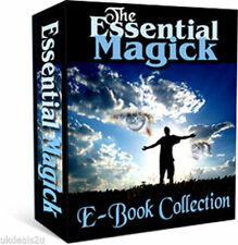 EBOOKS ON MAGICK, SPELLS, WICCA,WHITE MAGIC, TAROT, ASTROLOGY CD
