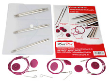 KnitPro KP10604 Nova Metal Starter Interchangeable Circular Knitting Needle Set