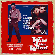 WILD IS THE WIND Dimitri Tiomkin 2-CD SET LA-LA LAND Ltd Ed Soundtrack SCORE New