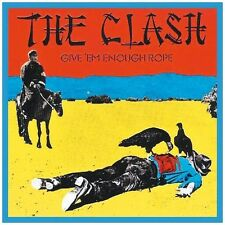 THE CLASH Give 'Em Enough Rope Vinyl LP 2013 Remastered NEW & SEALED Sony