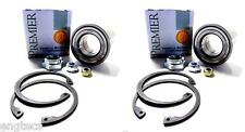 2x SET CUSCINETTO RUOTA ANTERIORE VW CADDY GOLF JETTA 1.8gti 1.6d TD 1.5