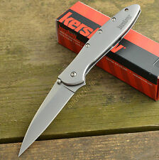 Kershaw Leek Assisted Opening 14C28N Plain Edge Knife 1660