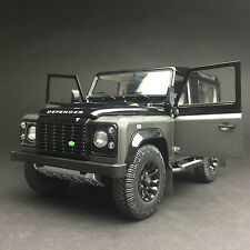 New 1/18 Kyosho Land Rover Defender 90 Aventure Open close car model Gray 08901