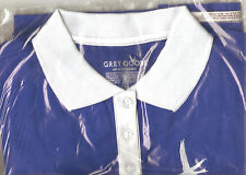 Womens Large Grey Goose Vodka Golf Shirt -New