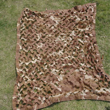 1x1m Desert Camouflage Camo Net Netting Camping Military Hunting Hide Cover