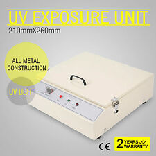 "Precise Vacuum UV Exposure Unit 10.2x8.3"" Screen Plate Curing Down Burning"