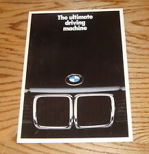 Original 1987 BMW Full Line Sales Brochure 87 M5 325i 535i