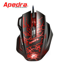 3200DPI LED Gaming Maus USB Optisch Gamer Mouse 7 buttons Für PC Laptop NEUE