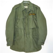 VINTAGE ORIGINAL US ARMY JACKET SHELL FIELD M-1951 M51 SZ SMALL REGULAR VIETNAM