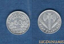 Etats Français, 1940 – 1944 – 50 Centimes Etat Français 1943 SUP ++++ Bazor