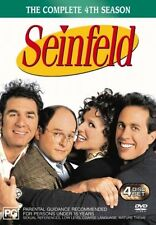 Seinfeld: The Complete Season 4 DVD NEW