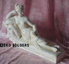 Madam Recam Paolina Bonaparte Canova Sofa Frauen Akt Frau Deko Figur Crem