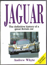 Jaguar History by Whyte 1920s-1989 SS C D E Types XK XJ Mk V expanded 3rd ed.