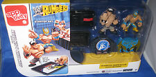 MATTEL APPTIVITY WW RUMBLERS EXCLUSIVE JOHN CENA & SIN CARR STARTER SET, NEW