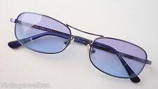 S.Oliver blaue Metall Sonnenbrille blaue Tönung GR:L sportlich Doppelsteg unisex