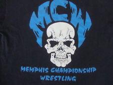 Vintage MCW Memphis Championship Wrestling Von Erich RARE T Shirt XL
