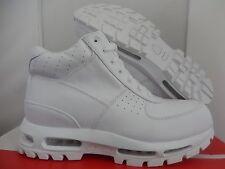 NIKE AIR MAX GOADOME 2013 QS BOOTS WHITE-WHITE SZ 11.5 [822206-111]