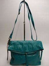 NWT Latico X- Body Bag Caribe Leather Antique Ornaments Front Slip Pocket