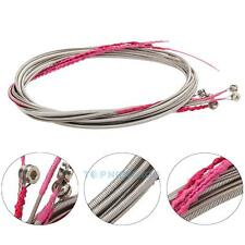 New 5 Stainless Steel Silver Plated Gauge Strings Sets for 5 String Bass Guitar