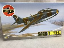 airfix 1/72 03065 saab tunnan model aircraft kit sealed